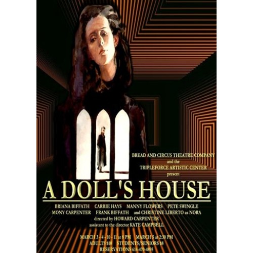 thesis a dolls house To what extent is nora a tragic heroine a doll's house by henrik ibsen is a modern tragedy that is centred around the life of a typical norwegian.