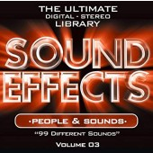 Sound Effects CD Volume 03: People and Sounds