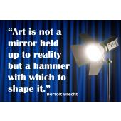 Brecht Mirror Poster