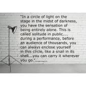 Stanislavski Circles Poster