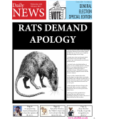 Say Sorry to the Rats!  Free downloadable resource