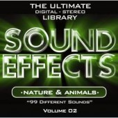 Sound Effects CD : Nature & Animals