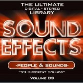 Sound Effects CD : People & Sounds
