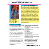 Drama Spotlight: Teaching Key Stage 3-The Wardrobe (2 page teaching guide)
